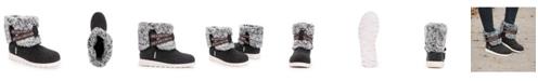 Muk Luks Women's Tamara Cold Weather Furry Booties