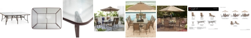 """Furniture Oasis Outdoor 84"""" x 60"""" Dining Table, Created for Macy's"""
