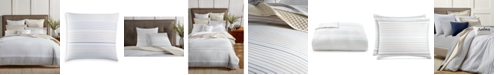 Charter Club CLOSEOUT! Woven Stripe Cotton 300-Thread Count 2-Pc. Twin Duvet Cover Set, Created for Macy's