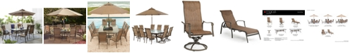 Furniture Oasis Outdoor Dining Collection, Created for Macy's