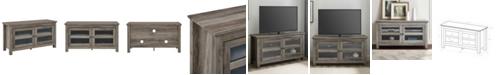 "Walker Edison 44"" Wood TV Media Stand Storage Console - Grey Wash"