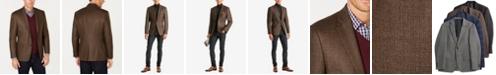 Lauren Ralph Lauren Men's Classic-Fit UltraFlex Stretch Brown/Green Tic Wool Sport Coat