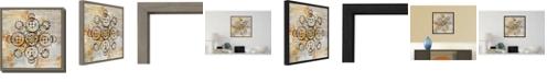 Amanti Art Saffron Mandala I Crop by Melissa Averinos Canvas Framed Art