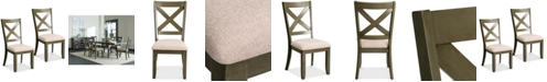 Furniture Omaha X-Back Dining Chair (Set Of 2), Quick Ship