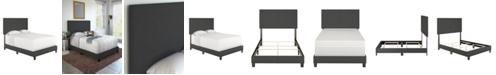 Ultima Morganford King Size Upholstered Linen Padded Platform Bed Frame