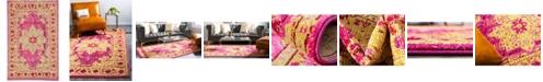 Bridgeport Home Sana San6 Pink 5' x 8' Area Rug