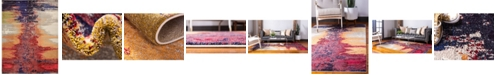 Bridgeport Home Newwolf New2 Pink 9' x 12' Area Rug