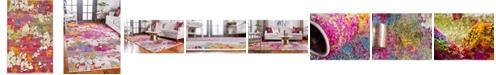 Bridgeport Home Pari Par6 Multi 5' x 8' Area Rug