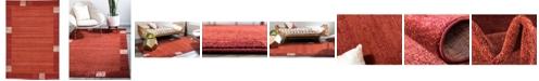 Bridgeport Home Lyon Lyo1 Rust Red 6' x 9' Area Rug
