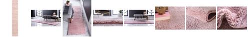 """Bridgeport Home Uno Uno1 Pink 2' 2"""" x 13' Runner Area Rug"""