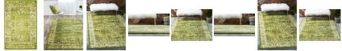 Bridgeport Home Linport Lin1 Green 2' x 3' Area Rug