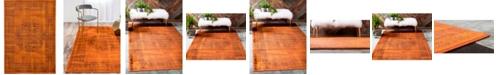 Bridgeport Home Linport Lin5 Terracotta 7' x 10' Area Rug