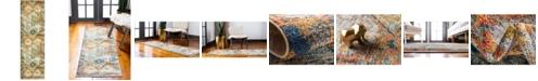 "Bridgeport Home Newhedge Nhg1 Beige 2' x 6' 7"" Runner Area Rug"