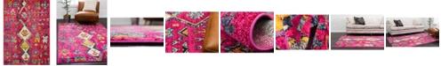 Bridgeport Home CLOSEOUT! Arcata Arc1 Pink 9' x 12' Area Rug