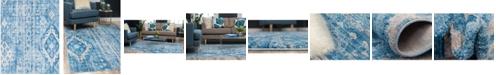 Bridgeport Home Nira Nir2 Blue 8' x 10' Area Rug