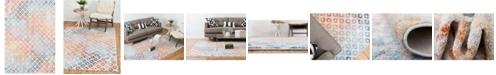 "Bridgeport Home Prizem Shag Prz2 Multi 5' 3"" x 7' 9"" Area Rug"