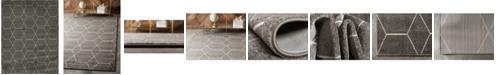 Bridgeport Home Plexity Plx1 Dark Gray 8' x 10' Area Rug