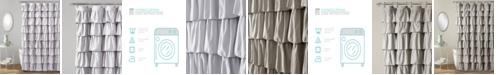 """Lush Decor Ruffle 72"""" x 72"""" Shower Curtain"""