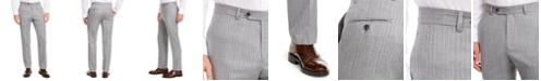 Tommy Hilfiger Men's Modern-Fit THFlex Stretch Gray/White Stripe Suit Separate Pants