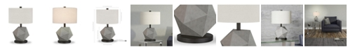 Hudson & Canal Kore Table Lamp In Concrete