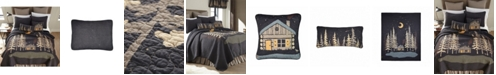 American Heritage Textiles Moonlit Cabin Cotton Quilt Collection