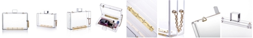 Milanblocks Transparent Acrylic Clasp Clutch