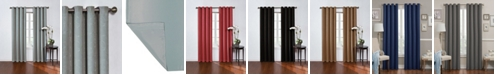 """Eclipse Geometric Print Thermaweave Blackout 52"""" x 108"""" Curtain"""