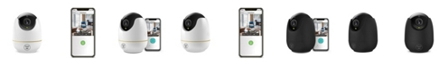 Westinghouse Security 360 Indoor Wifi-Enabled Pan and Tilt Security Camera