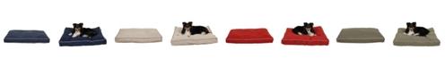 Carolina Pet Company Memory Foam Classic Canvas Rectangle Jamison Bed