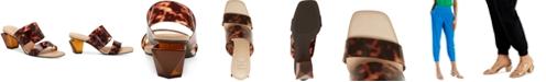 INC International Concepts Women's Calantha Clear Vinyl Dress Sandals, Created for Macy's