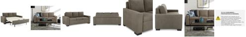 Furniture Alaina 77 Quot Fabric Sofa Bed Queen Sleeper