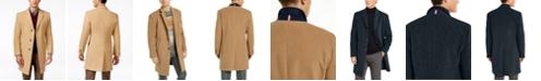 Tommy Hilfiger Addison Wool-Blend Overcoat Trim Fit