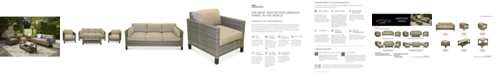 Furniture CLOSEOUT! North Port Outdoor Seating Collection,with Sunbrella® Cushions, Created for Macy's