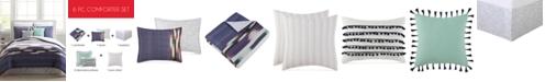 Pem America Alameda Reversible 6-Pc. Twin XL Comforter Set
