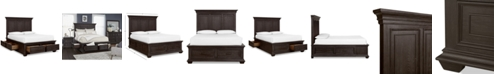 Furniture Hansen Storage Full Bed, Created for Macy's