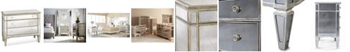Furniture Marais 3 Drawer Mirrored Chest