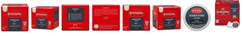 Community Coffee Signature Blend Dark Roast Single Serve Pods, Keurig K-Cup Brewer Compatible, 54 Ct
