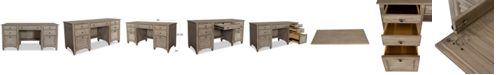 Furniture York Home Office Credenza Desk