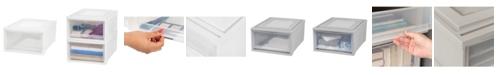 IRIS USA Iris Medium Box Chest Drawer, 3 Pack
