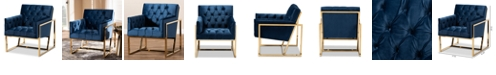 Furniture Milano Lounge Chair, Quick Ship