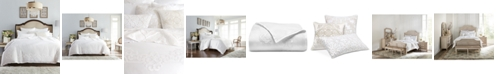 Hotel Collection Classic Scroll Appliqué Cotton Full/Queen Duvet Cover, Created for Macy's