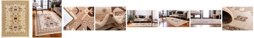"Bridgeport Home Charvi Chr1 Ivory 9' 10"" x 13' Area Rug"