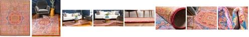 Bridgeport Home Malin Mal3 Peach 8' x 10' Area Rug