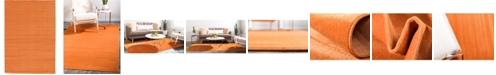 Bridgeport Home Axbridge Axb3 Orange 6' x 9' Area Rug