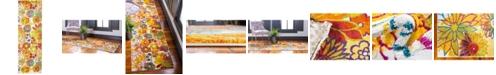 Bridgeport Home Pari Par1 Ivory 2' x 6' Runner Area Rug
