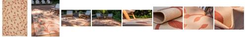 "Bridgeport Home Pashio Pas4 Terracotta 8' x 11' 4"" Area Rug"