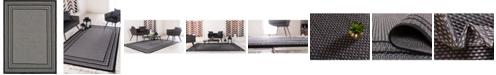 "Bridgeport Home Pashio Pas6 Gray 8' x 11' 4"" Area Rug"