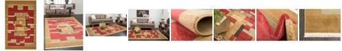 """Bridgeport Home Ojas Oja2 Rust Red 10' 6"""" x 16' 5"""" Area Rug"""