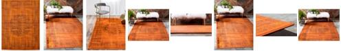 """Bridgeport Home Linport Lin5 Terracotta 13' x 19' 8"""" Area Rug"""