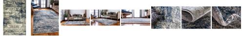 Bridgeport Home Marblesea Mrb4 Gray 5' x 8' Area Rug